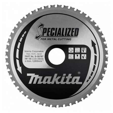 Makita B-09787 185mm Spécialisé Pour Coupe Métal Portable Lame Scie