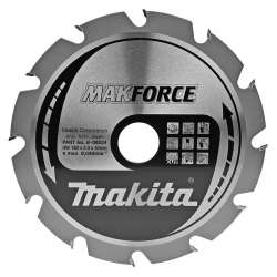 Lame carbure MAKITA B-08224 ''MakForce'' bois pour scies circulaires