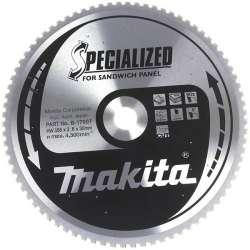 Lame carbure MAKITA B-17697 ''Specialized'' Panneaux sandwichs pour scies circulaires