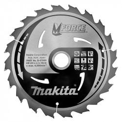 Lame carbure MAKITA B-07995 ''MForce'' Bois pour scies circulaires