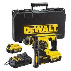 Perforateur Burineur DCH253M2 DEWALT 18 V XR Li-ion 2 x 4.0 Ah