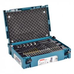 Assortiment Vissage-Perçage MAKITA B-69478 SDS Plus en Coffret Mak-Pac contenant 65 pièces pour perforateur