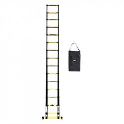 Echelle télescopique WOERTHER GRAFITEK ECH-440-G-P1 4m40 (avec housse)