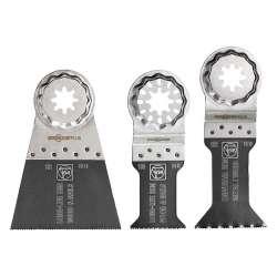 Kit 3 Lames de scie FEIN E-Cut SLP 35222952030