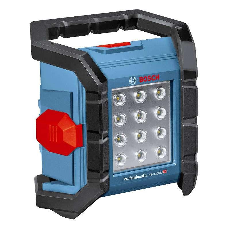 Lampe sans fil BOSCH GLI 18V-1200 C Professional (Machine Nue)