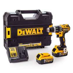 Perceuse visseuse à percussion DEWALT DCD796P2 18V XR Brushless 2x5,0Ah