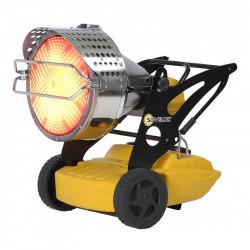 Chauffage radiant mobile à combustion directe SOVELOR FLASH 1 140W 230V/50Hz