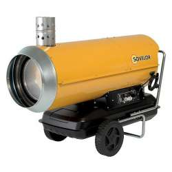 Chauffage air pulsé mobile à combustion indirecte SOVELOR HPV 85 85Kw 1060W 230V/50Hz