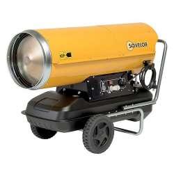 Chauffage air pulsé mobile à combustion directe SOVELOR HP65 65Kw 800W 230V/50Hz