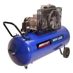 Compresseur d'air lubrifié triphasé AERFAST MA2005404 200 litres - 94kg