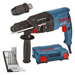 Perforateur BOSCH GBH 2-26 F Professional SDS-Plus 830W + kit de 5 Forets SDS Plus-5