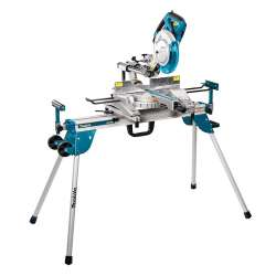 Pack Scie à Onglet radiale MAKITA LS1018L 1430W 260mm + Chariot Support MAKITA WST06
