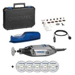 Outil Multi-fonctions DREMEL® 3000 (3000-1/255) + Accessoires