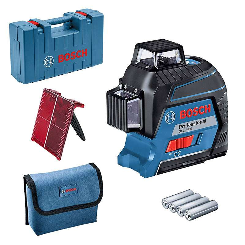Laser lignes BOSCH GLL 3-80 P Professional