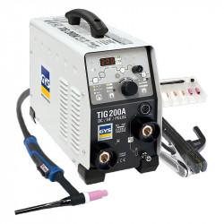 Poste de soudure TIG 200 DC HF FV avec accessoires GYS 011540