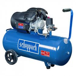 Compresseur 100l à deux cylindres 2200W SCHEPPACH HC100DC
