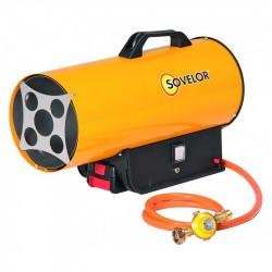 Chauffage air pulsé portable au gaz propane avec batterie SOVELOR BLP17 MDC