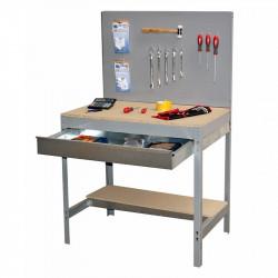Établi avec panneau mural et tiroir BT-02 BOX 1500 SIMONRACK 338100945156012