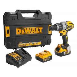 Perceuse visseuse percussion DEWALT DCD996P2 18V XR (2 x 5Ah)