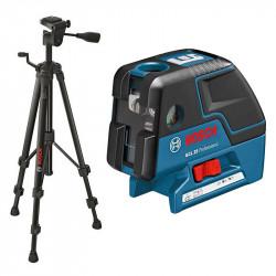 Laser points BOSCH GCL25 Professional + Trépied BOSCH BT150
