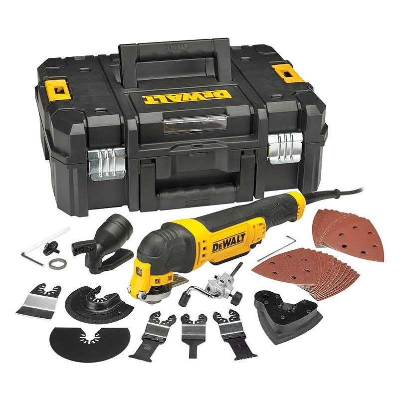 Multi-Cutter DEWALT DWE315KT - 300 W + 32 accessoires en coffret T-STAK