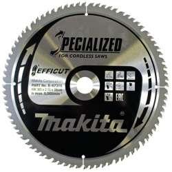 Lame de scie circulaire MAKITA B-67315 SPECIALIZED EFFICUT accu Ø305mm