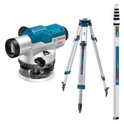 Pack Niveau/Mire/Trépied BOSCH Professional 0601068503 (GOL 32 G + BT 160 + GR 500)