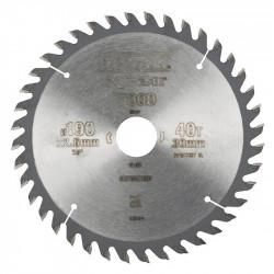 Lame DEWALT Extreme DT4064 Bois coupe fine Ø 190 mm 40 dents pour scie circulaire