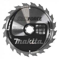 Lame Carbure MakForce MAKITA B-08399 pour Bois 235 mm pour Scie Circulaire