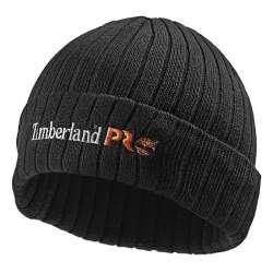 Bonnet recyclé Timberland PRO® TB0 A4QTJ-BK pour homme (Noir)