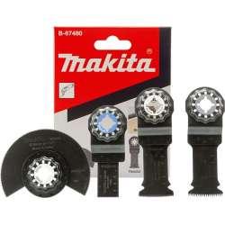 Ensemble 4 accessoires MAKITA B-67480 pour bois et métaux STARLOCK