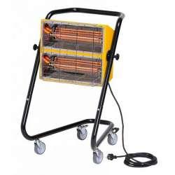 Chauffage portable infrarouge halogène à quartz SOVELOR MT 30 3000W