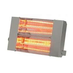 Chauffage suspendu radiant halogène quartz infrarouge électrique IPX5 SOVELOR IRC 3000 CI 3000W