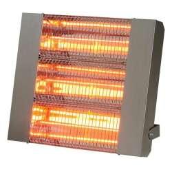 Chauffage suspendu radiant halogène quartz infrarouge électrique IPX5 SOVELOR IRC 4500 CI 4500W