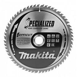 Lame de scie circulaire MAKITA B-67284 EFFICUT Specialized pour bois Ø 260mm