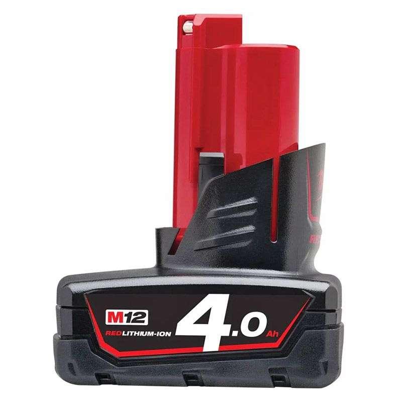 Batterie MILWAUKEE M12B4 Red Lithium M12™ 4Ah