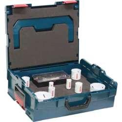 Coffret scies trépans BOSCH Professional 2608594271 Spécial électricien (11 pièces dans un LBOXX)