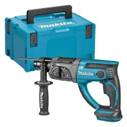 Perforateur Burineur SDS-Plus MAKITA DHR202ZJ (machine nue) 18 V LXT + Mak-Pac