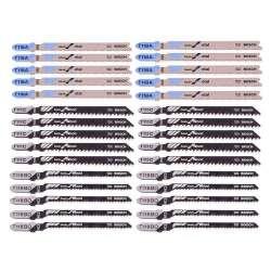 Coffret de 30 lames de scie sauteuse Basic for Wood and Metal BOSCH Professional 2607010903 Tough Box