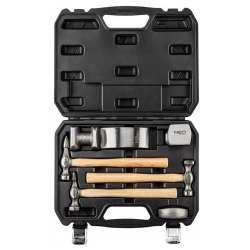 Kit carrossier - jeu d'outils de tôlier NEO TOOLS 11-640 (7 pièces)