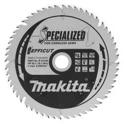 Lame de scie MAKITA B-57336 SPECIALIZED EFFICUT Ø 165mm