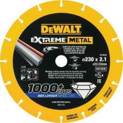 Disque à tronçonner DEWALT DT40255 EXTREME METAL Ø 230mm