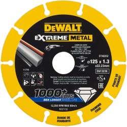 Disque à tronçonner DEWALT DT40252 EXTREME METAL Ø 125mm