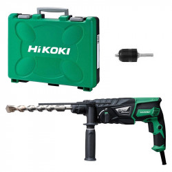 Perforateur HIKOKI DH26PB 830W SDS-Plus + Mandrin