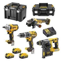 Pack 4 outils DEWALT DCK428P3T 18V Li-Ion (3x5Ah)