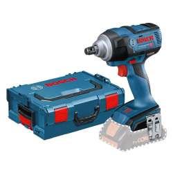 Boulonneuse à chocs sans fil BOSCH GDS 18V-300 C Professional (Machine Nue) + L-Boxx