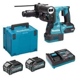 Perforateur burineur MAKITA HR002GM202 SDS+ 40Vmax 2 x 4.0Ah