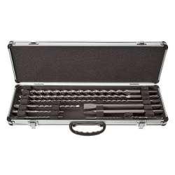Coffret Alu 8 Forets + 2 burins SDS-Plus MAKITA D-21191