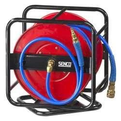 Enrouleur tuyau d'air avec raccords SENCO 4000730 30 mètres pivotant à 360°