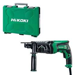 Perforateur HIKOKI DH26PC2WSZ 26mm SDS + 830W - 2,9 Joules EPTA